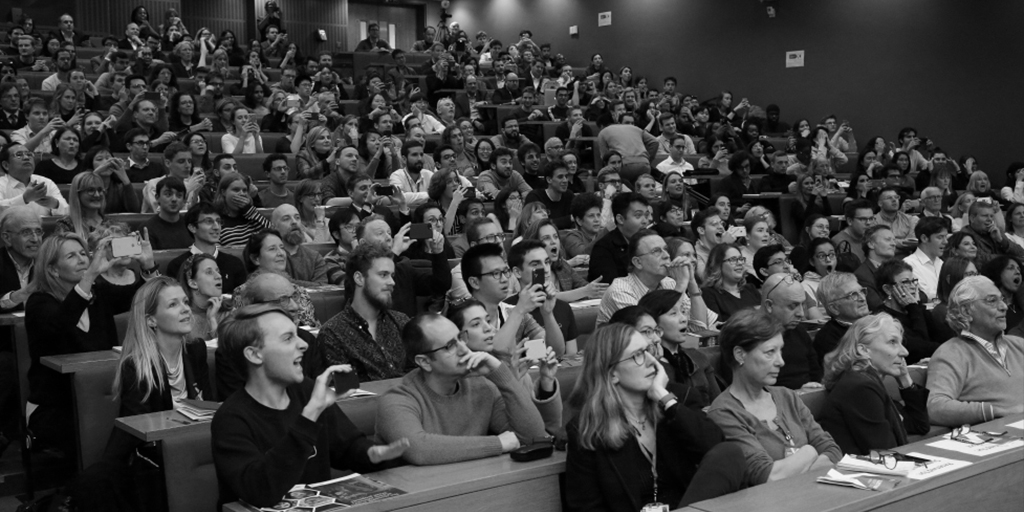 audience at an LSE lecture in black and white, source: https://www.flickr.com/photos/lseinpictures/49237666742/in/album-72157687833981816/